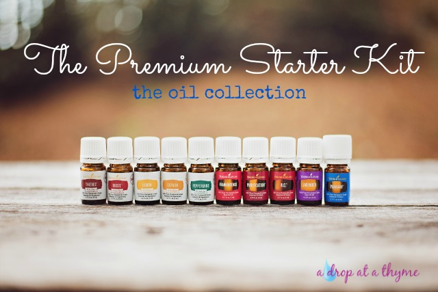 Young Living Starter Kit Oils