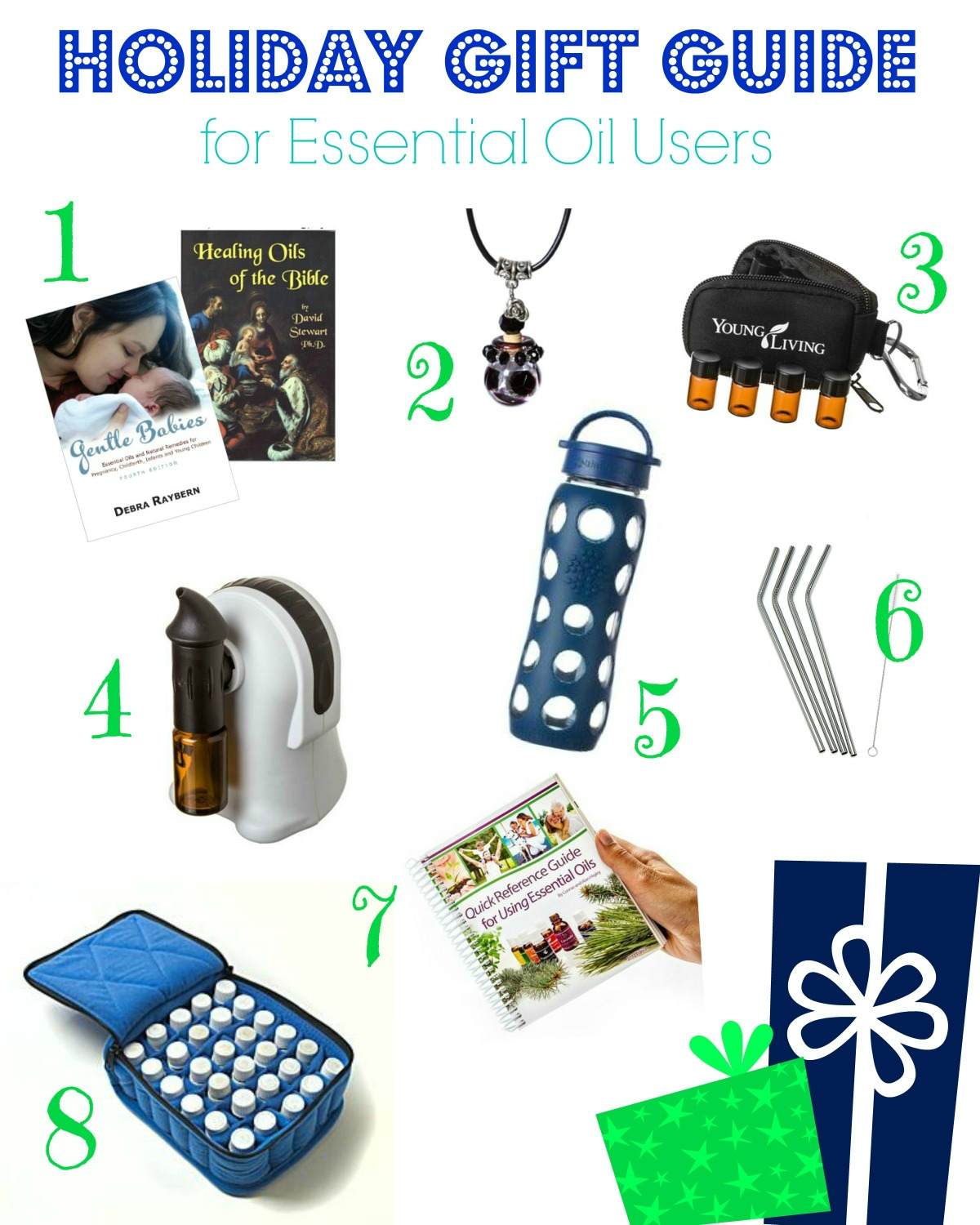 Holiday Gift Guide for Essential Oil Users