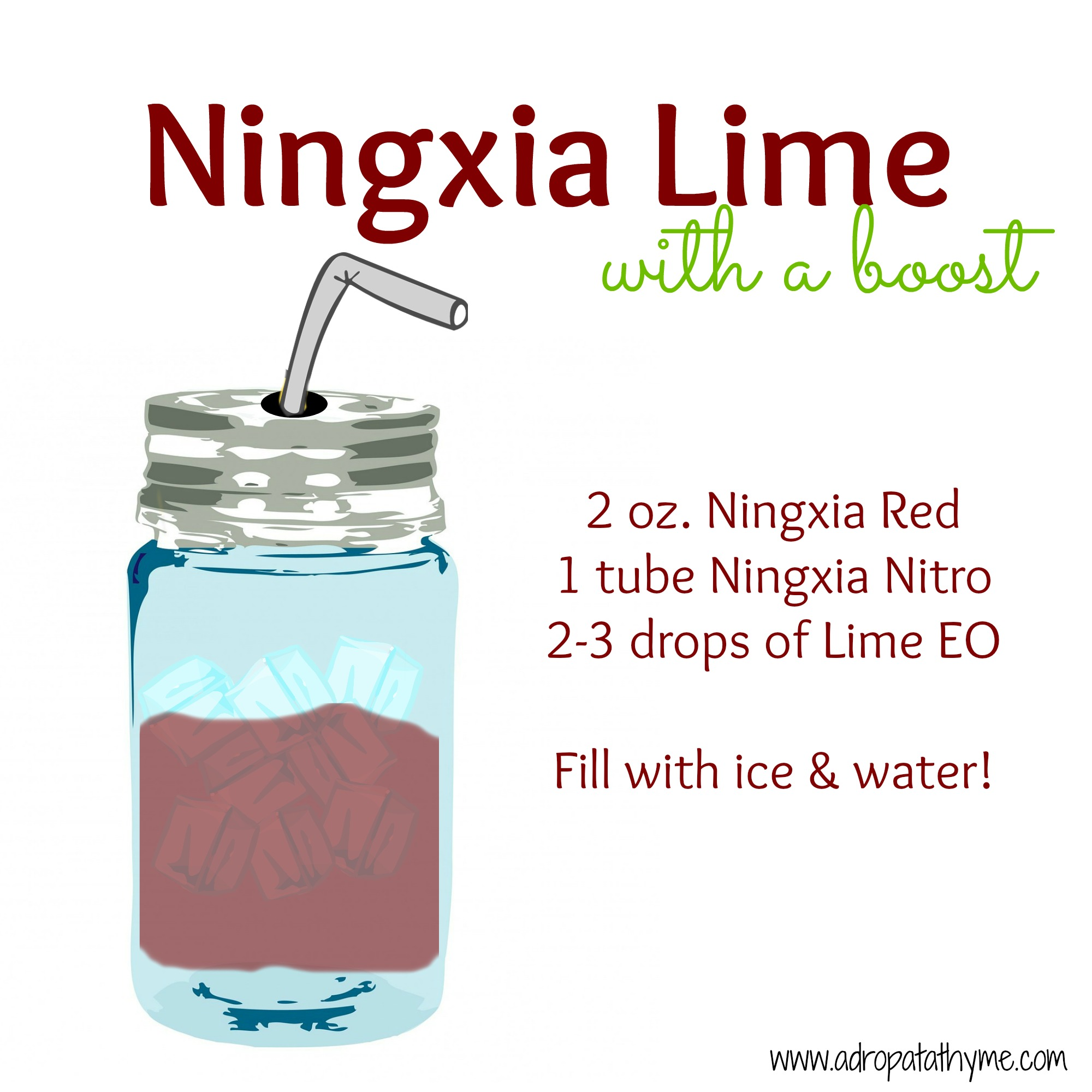 Ningxia Lime with a Boost