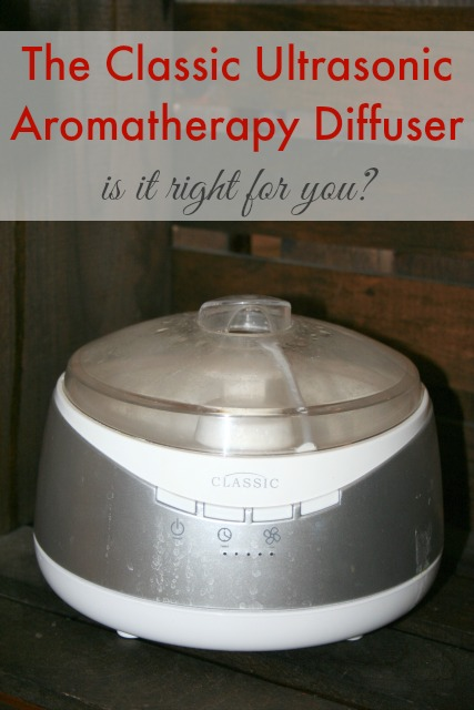 The Classic Ultrasonic Aromatherapy Diffuser