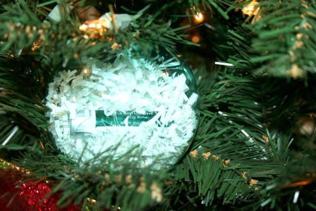 Christmas Ornament with Young Living Lip Balms