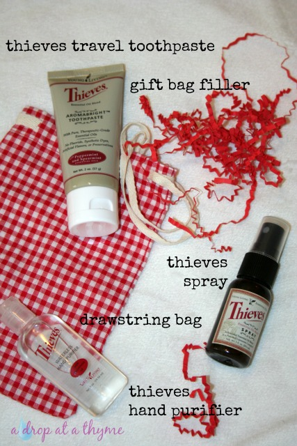 Young Living Gift Idea Thieves Travel Set
